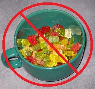 Süßigkeitenramadan (Foto: Herr Meier)