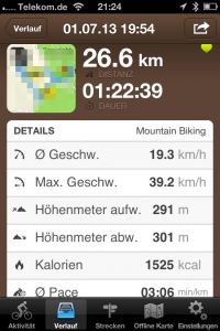 Screenshot runtastic  (Foto: Herr Meier)