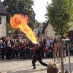 Feuerschlucker (Foto: Herr Meier)